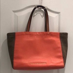 Marc by Marc Jacobs colourblock leather bag